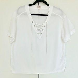 brand New Adriano Goldschmeid cotton shirt